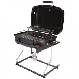 Barbecue (Black) w/QD Disposable Bottle Adapter