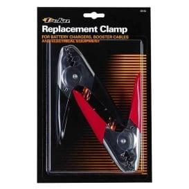 Clamp Chrome Steel HD Red/Black Pair