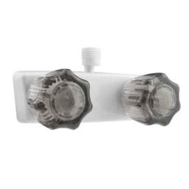 RV Shower Faucet White