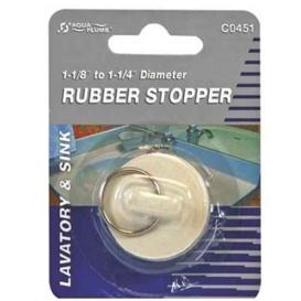 """1-1/8"""" White Stopper"""