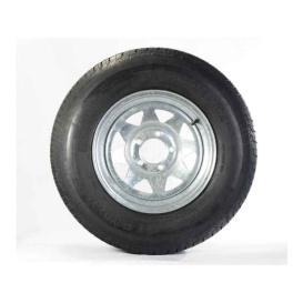 ST205/75D Tire15 C/5H Trailer Wheel Spoke Gal