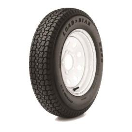 ST205/75D Tire14C/5H Trailer Wheel Mini Modular Chrome