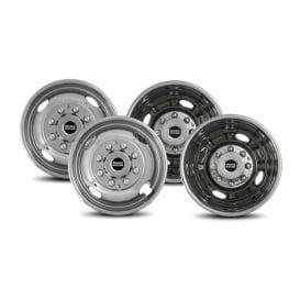 """2F & 2R Lug Wheel Skins 16"""""""