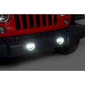 LED Fog Lamps Wrangler Jack