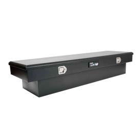 Black Steel Toolbox Single Lid Full