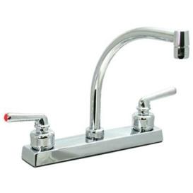 """8"""" Ledge Faucet Hi-Arch"""