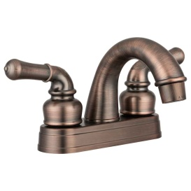 RV Lavatory Faucet Oiled Bronze