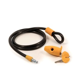 """PowerGrip 60"""" Cable Lock with Retractable Key Cover"""