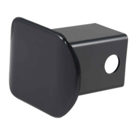 """2"""" Black Plastic Hitch Tube Cover (Packaged)"""