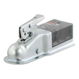"2"" Straight-Tongue Coupler with Posi-Lock (3"" Channel, 5,000 lbs., Zinc)"