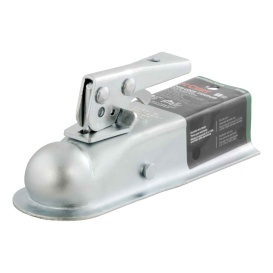 "1-7/8"" Straight-Tongue Coupler with Posi-Lock (2"" Channel, 2,000 lbs., Zinc)"