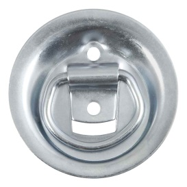 "1-1/8"" x 1-5/8"" Recessed Tie-Down Ring (1,000 lbs., Clear Zinc)"