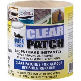 """QUICK ROOF CLEAR PATCH-TAPE 4""""X6'"""