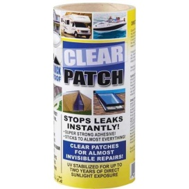 """QUICK ROOF CLEAR PATCH-TAPE 8""""X6'"""