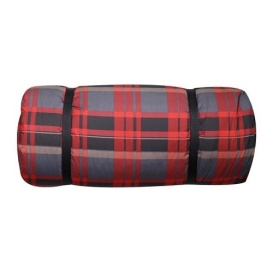 Red/Black Large Duvalay Luxury Sleeping Pad