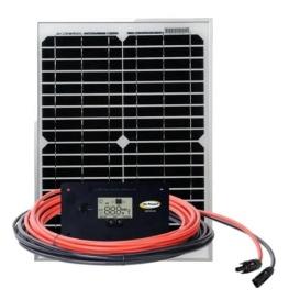 GP-RV-20 20-Watt Solar Kit with 4.5 Amp Regulator