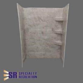 Shower Wall 24X40X66 Grand Teton