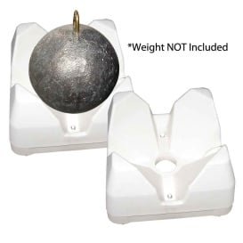 3022-WH Weight Mate - White 2 Pack