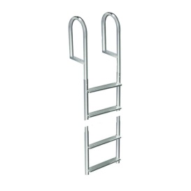 Welded Aluminum Fixed 4 Step Ladder