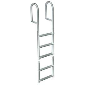 Welded Aluminum Fixed 5 Step Ladder