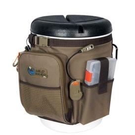 RIGGER 5 Gallon Bucket Organizer w/Lights, Plier Holder & Lanyard, 2 PT3500 Trays & Bucket w/Seat