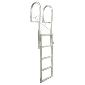 SLIDE-UP Aluminum 5-Step Dock Ladder