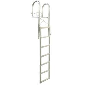 SLIDE-UP Aluminum 7-Step Dock Ladder