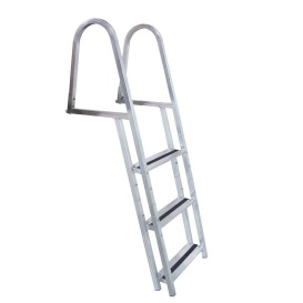 STAND-OFF Aluminum 3-Step Ladder w/Quick Release