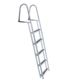 STAND-OFF Aluminum 5-Step Ladder w/Quick Release