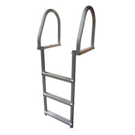 Aluminum 3-Step Eco Flip-Up Dock Ladder - Weld Free