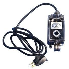 115V Thermostat f/Salt Water or Fresh Water w/Adjustable Temperature Settings (0-deg to 80-deg)