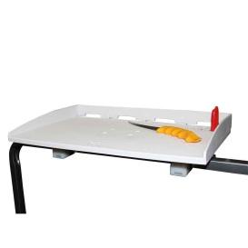 """Square Tube Rail Mount Fillet Table - 30"""""""