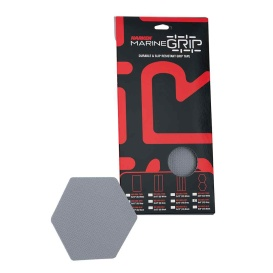 Marine Grip Tape - Honeycomb - Grey - 12 Pieces