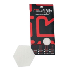 Marine Grip Tape - Honeycomb - Translucent White - 12 Pieces