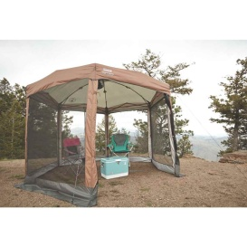 Shelter 12 x 10 Back Home  Screened Canopy Sun Shelter w/Instant Setup