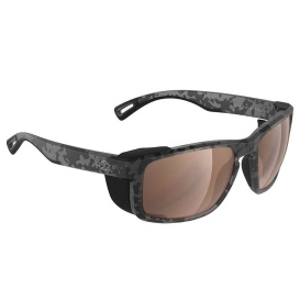 Reef Sunglasses Matt Tiger Shark, Brown Lens Cat.3 - AntiSalt Coating w/Floatable Cord