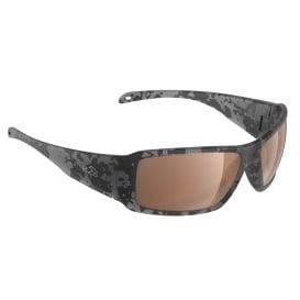 Stream Sunglasses Matt Tiger Shark, Brown Lens Cat.3 - AntiSalt Coating w/Floatable Cord