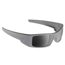 Waders Sunglasses Matt Grey, Grey Silver Flash Mirror Lens Cat.3 - AntiSalt Coating w/Floatable Cord