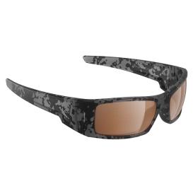 Waders Sunglasses Matt Tiger Shark, Brown Lens Cat.3 - AntiSalt Coating w/Floatable Cord