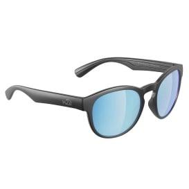 Caladesi Sunglasses Matt Gun Metal, Grey Blue Flash Mirror Lens Cat. 3 - AR Coating