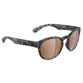 Caladesi Sunglasses Matt Tiger Shark, Brown Lens Cat. 3 - AR Coating