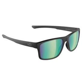 Coronado Sunglasses Matt Black, Brown Green Flash Mirror Lens Cat. 3 - AR Coating