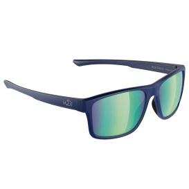 Coronado Sunglasses Navy-Matte, Green Flash Mirror Lens Cat. 3 - AR Coating