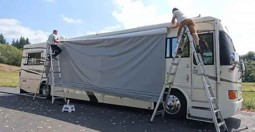 How To Replace an RV Awning Fabric - RV Part Shop