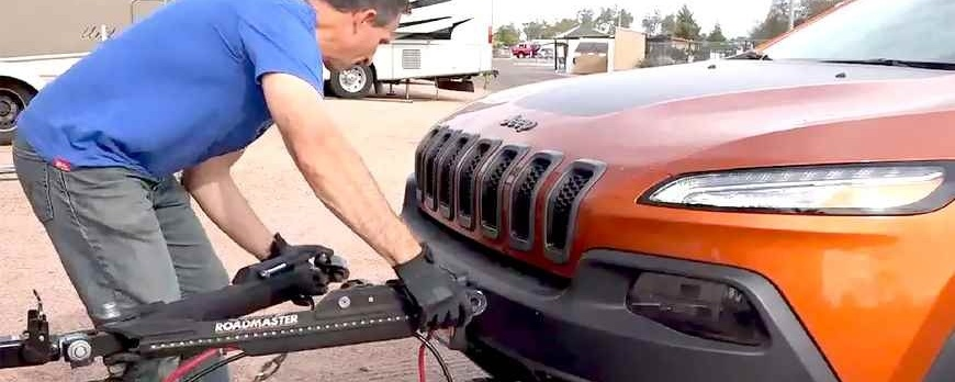 How to Set Up an RV Tow Bar System